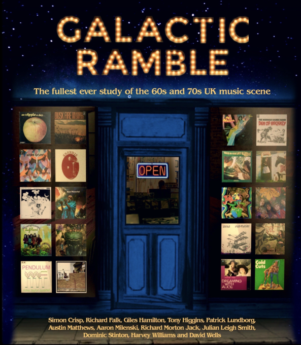 GALACTIC RAMBLE huge new 920pp paperback edition - 60s & 70s pop folk psych jazz & more...