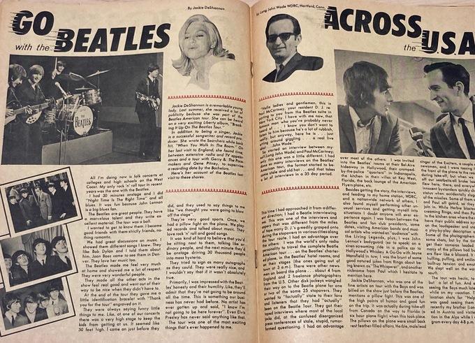 BEATLES COMIC - Charlton Publications Vol. 1 #6 fan magazine comic book size OBSCURE 1965