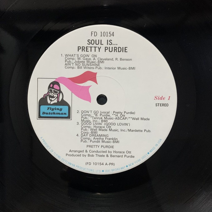 Soul Is... Pretty Purdie