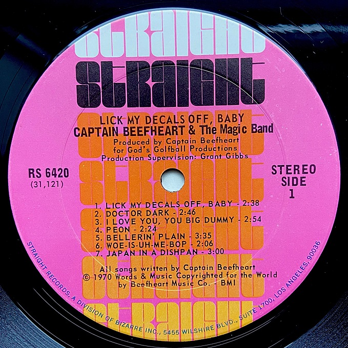Lick My Decals Off, Baby by Captain Beefheart