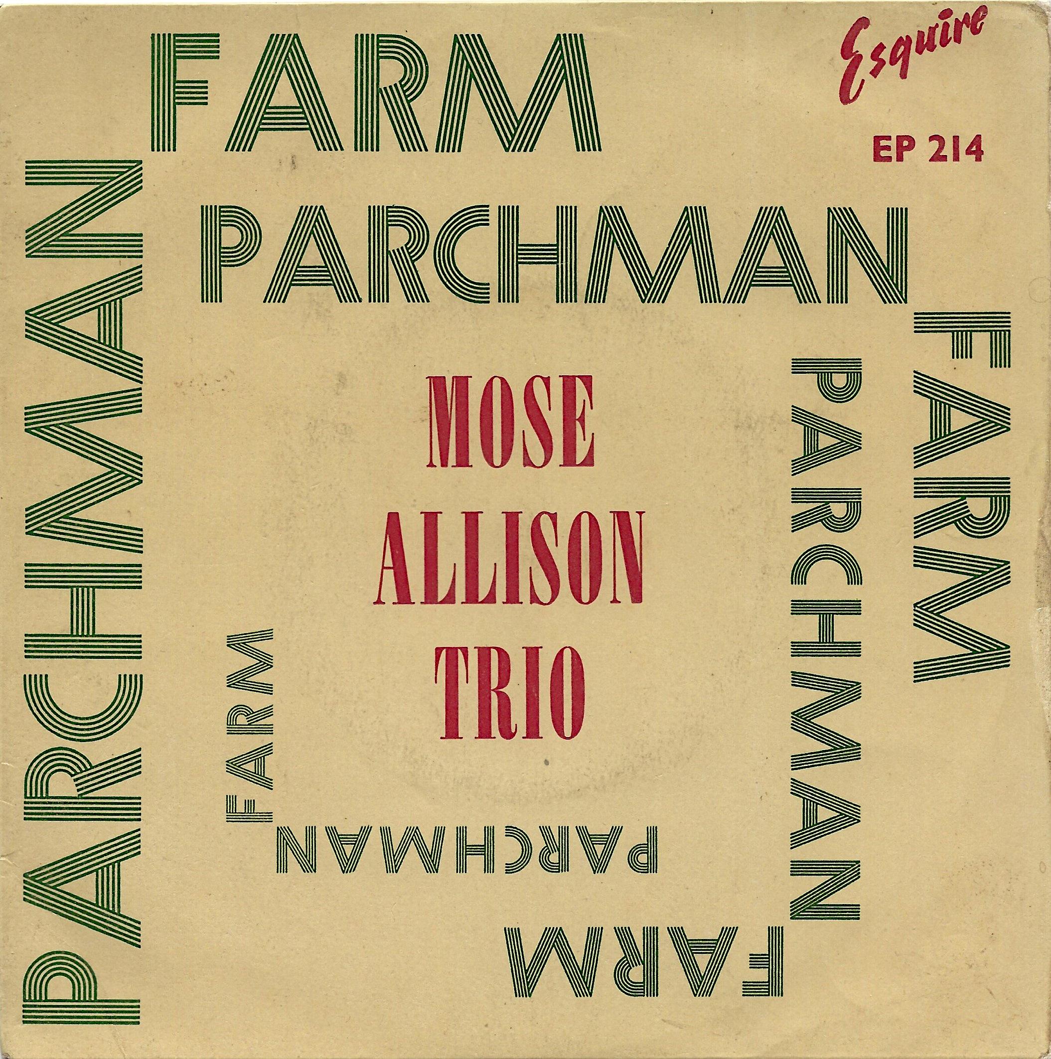 Parchman Farm For Sale Elvinyl