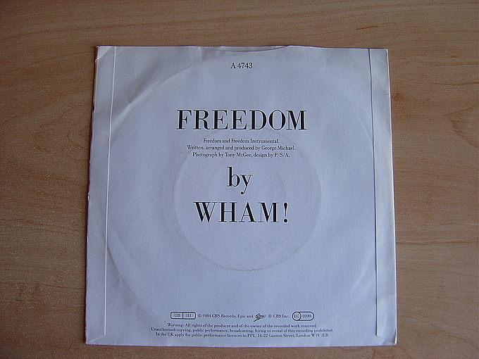 Freedom by Wham!