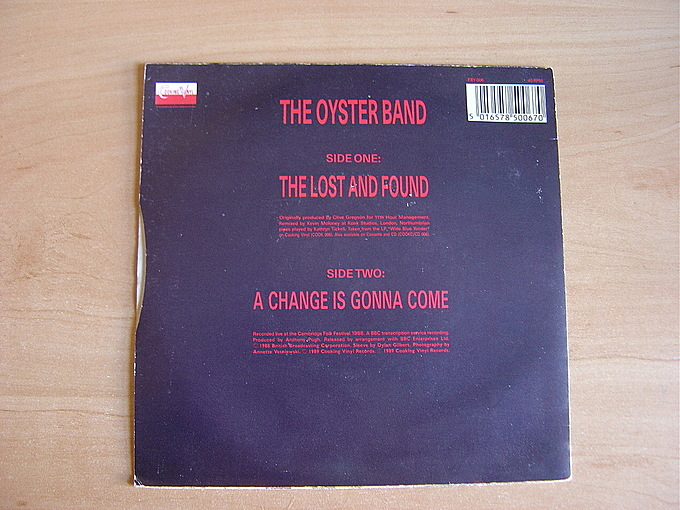 The Lost And Found by Oysterband