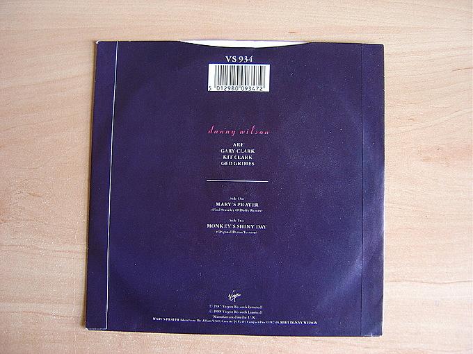 Mary's Prayer (Paul Staveley O'Duffy Remix) / Monkey's Shiny Day (Original Demo Version) by Danny Wilson
