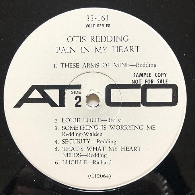 Pain In My Heart by Otis Redding
